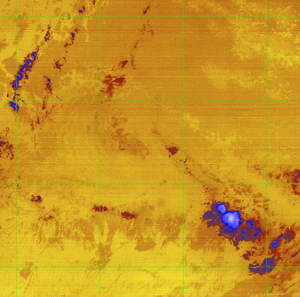Band 16 - 13.3 µm - CO₂ Longwave - IR - 28 Jun 2020 - 1220 UTC