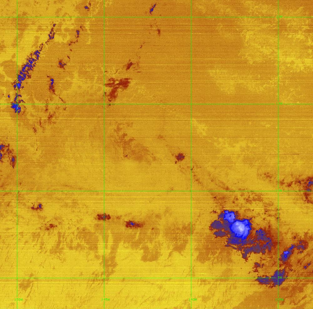 Band 16 - 13.3 µm - CO₂ Longwave - IR - 28 Jun 2020 - 1240 UTC