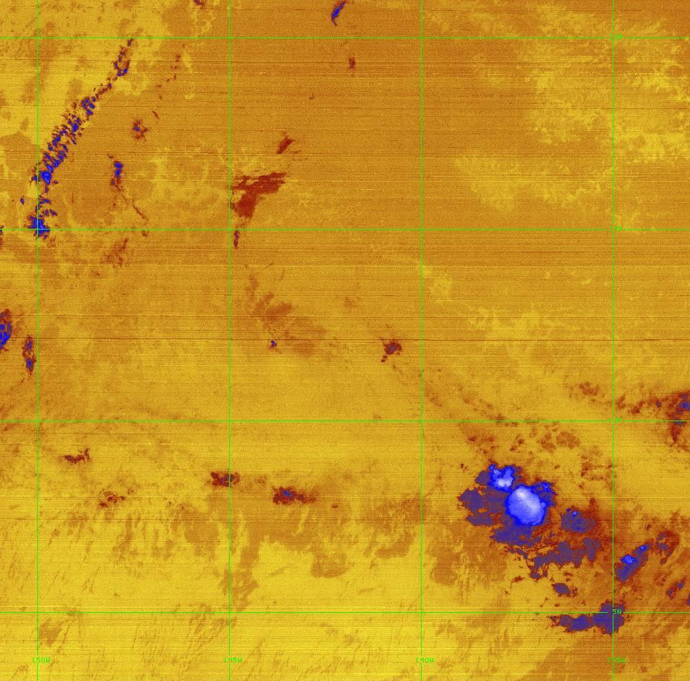 Band 16 - 13.3 µm - CO₂ Longwave - IR - 28 Jun 2020 - 1310 UTC
