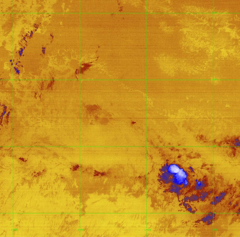 Band 16 - 13.3 µm - CO₂ Longwave - IR - 28 Jun 2020 - 1420 UTC