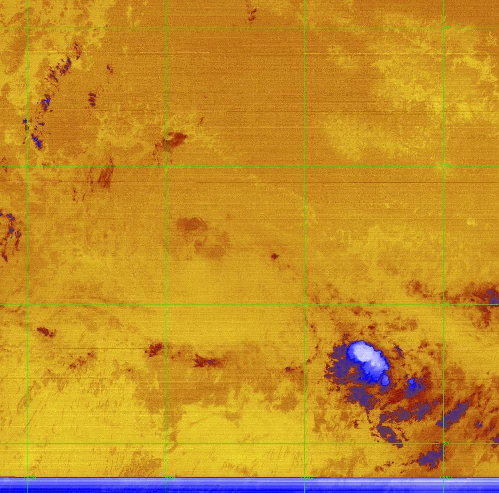 Band 16 - 13.3 µm - CO₂ Longwave - IR - 28 Jun 2020 - 1440 UTC