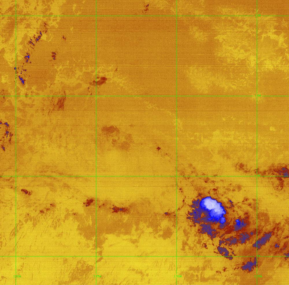 Band 16 - 13.3 µm - CO₂ Longwave - IR - 28 Jun 2020 - 1450 UTC