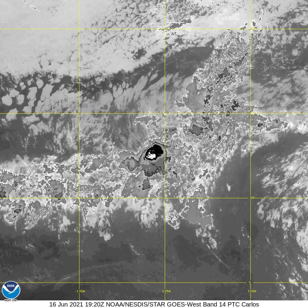 Band 14 - 11.2 µm - Longwave Window - IR - 16 Jun 2021 - 1920 UTC