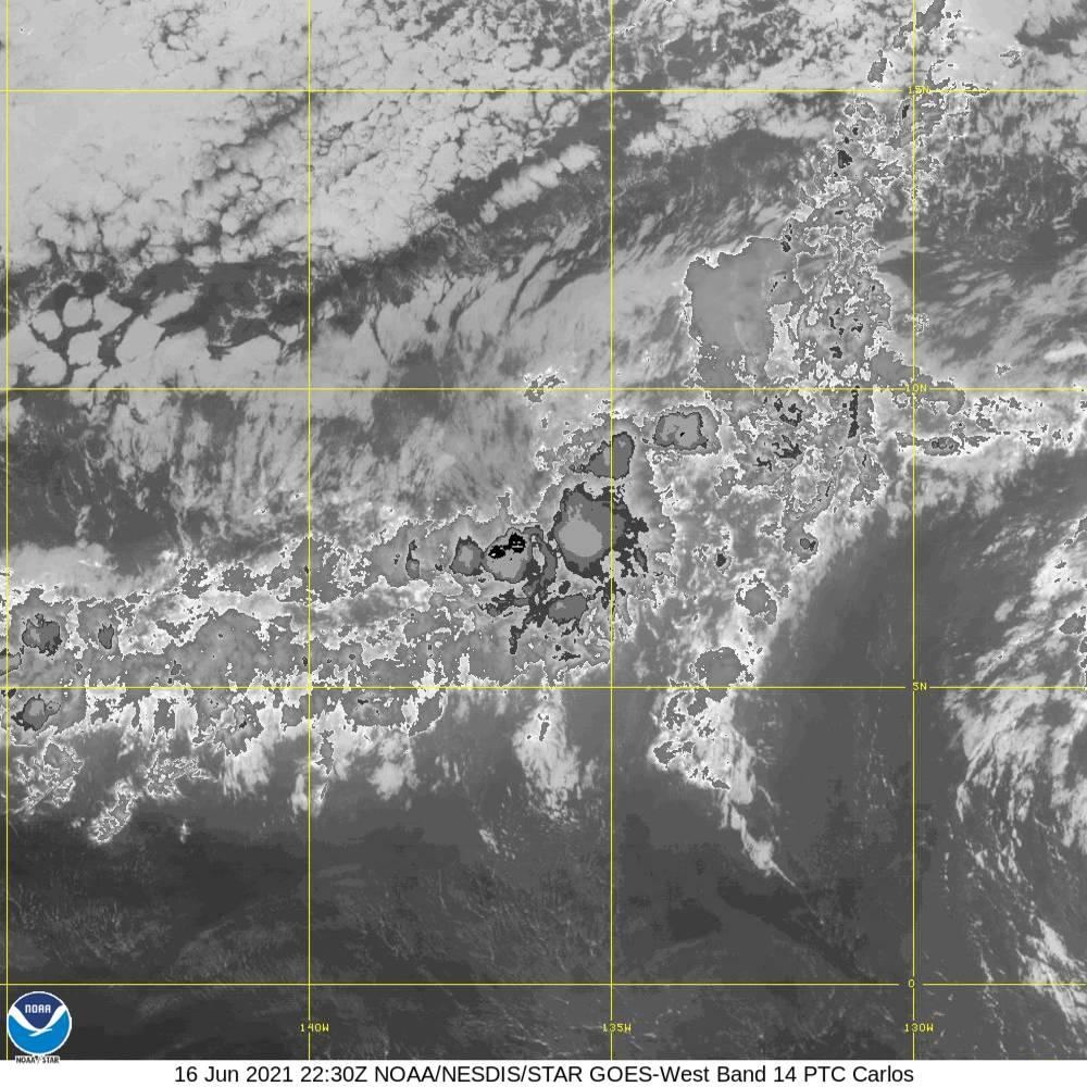 Band 14 - 11.2 µm - Longwave Window - IR - 16 Jun 2021 - 2230 UTC