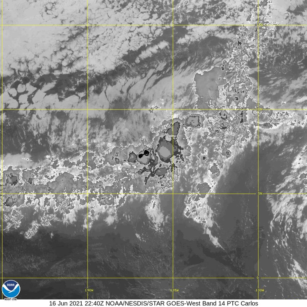 Band 14 - 11.2 µm - Longwave Window - IR - 16 Jun 2021 - 2240 UTC