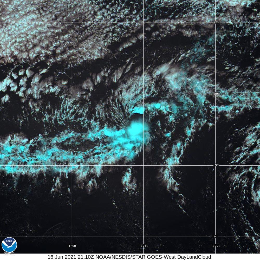 Day Land Cloud - EUMETSAT Natural Color - 16 Jun 2021 - 2110 UTC