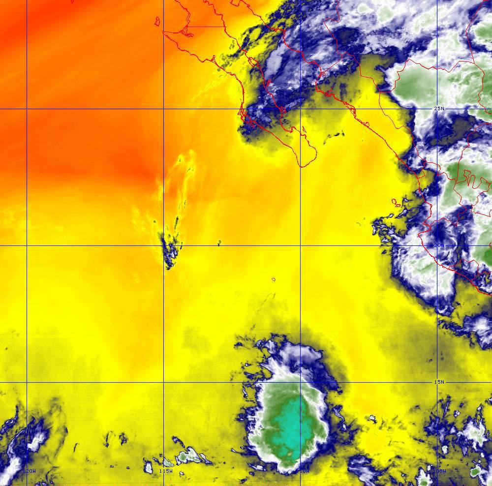 Band 10 - 7.3 µm - Lower-level Water Vapor - IR - 01 Jul 2020 - 0430 UTC