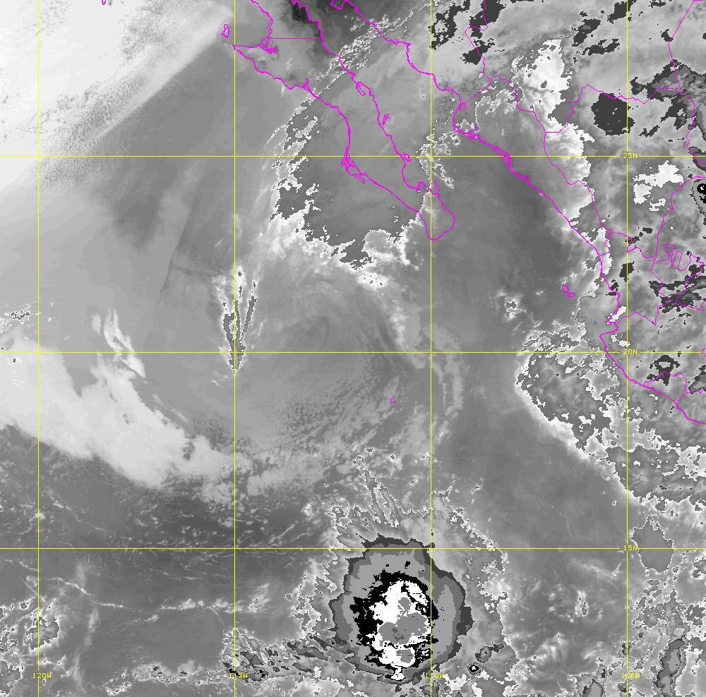 Band 14 - 11.2 µm - Longwave Window - IR - 01 Jul 2020 - 0650 UTC