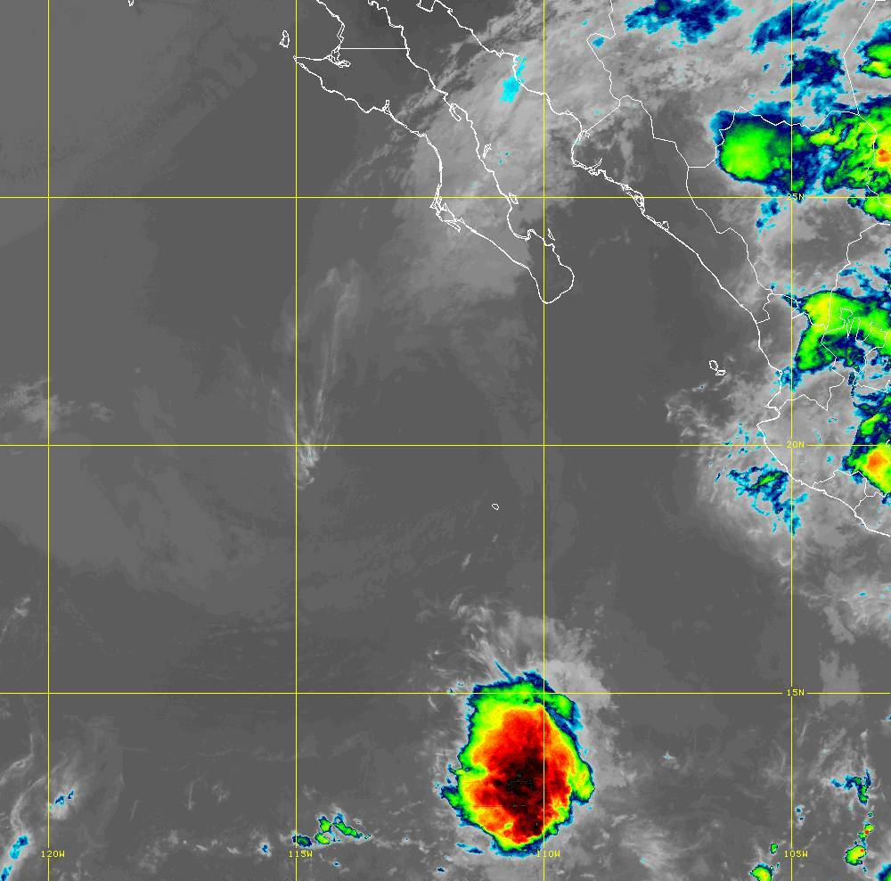 Band 15 - 12.3 µm - Dirty Longwave Window - IR - 01 Jul 2020 - 0500 UTC