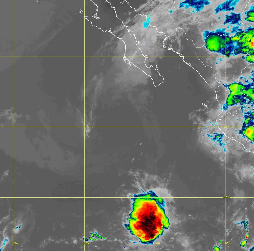 Band 15 - 12.3 µm - Dirty Longwave Window - IR - 01 Jul 2020 - 0510 UTC