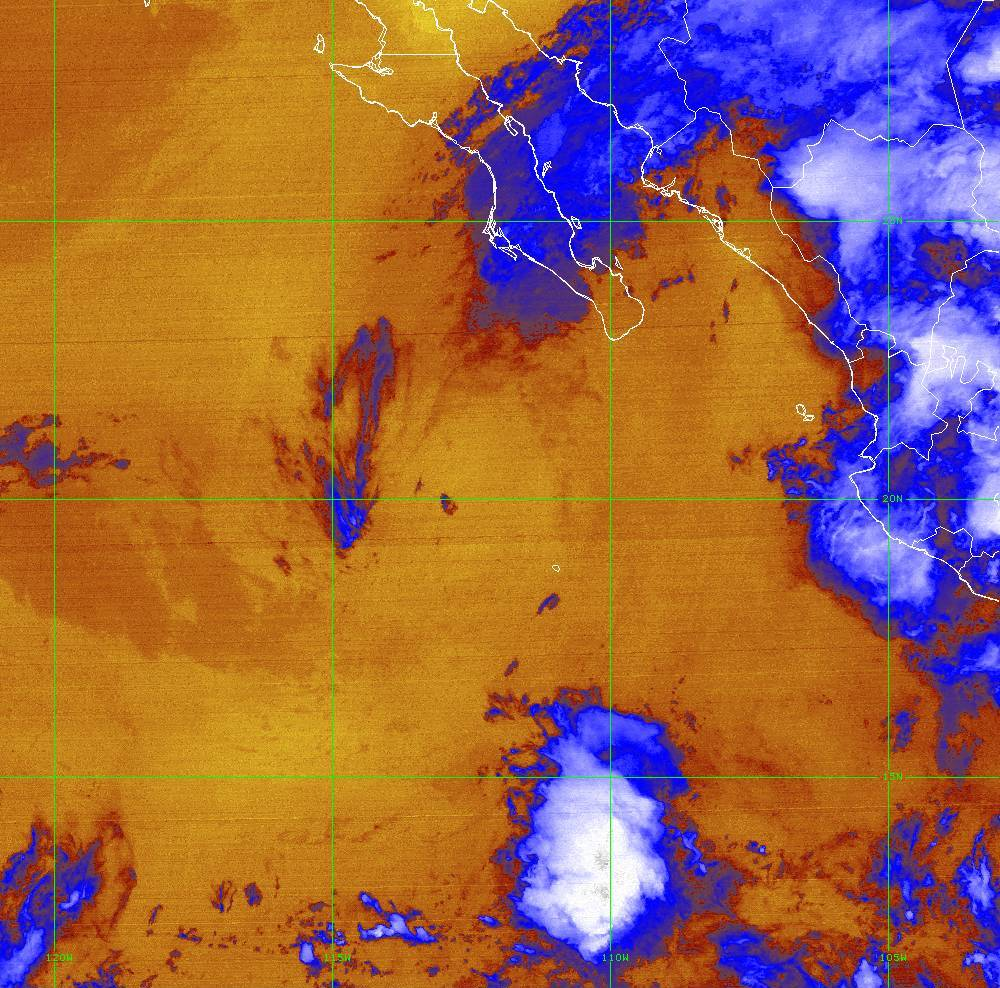 Band 16 - 13.3 µm - CO₂ Longwave - IR - 01 Jul 2020 - 0400 UTC