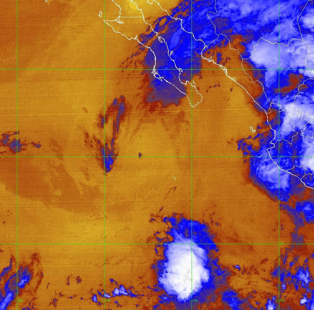 Band 16 - 13.3 µm - CO₂ Longwave - IR - 01 Jul 2020 - 0430 UTC