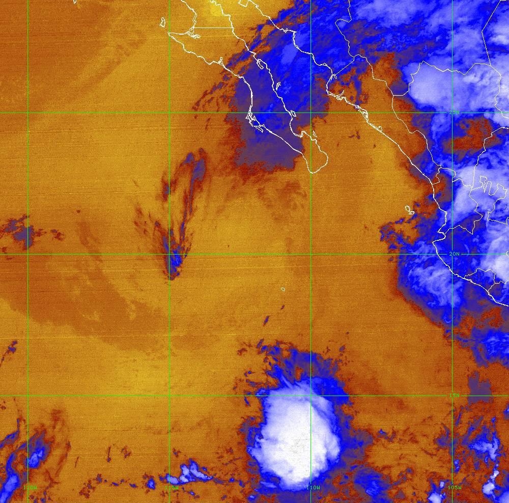 Band 16 - 13.3 µm - CO₂ Longwave - IR - 01 Jul 2020 - 0500 UTC