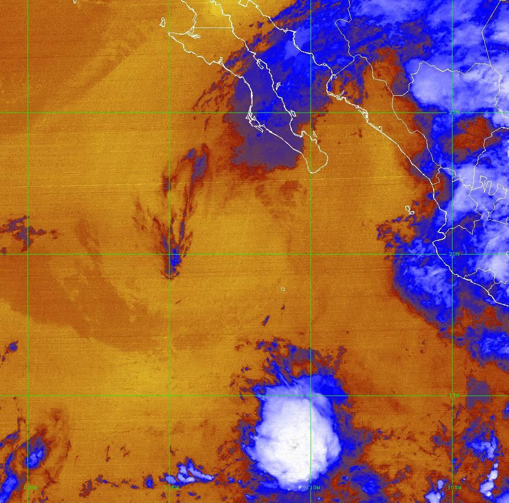 Band 16 - 13.3 µm - CO₂ Longwave - IR - 01 Jul 2020 - 0520 UTC