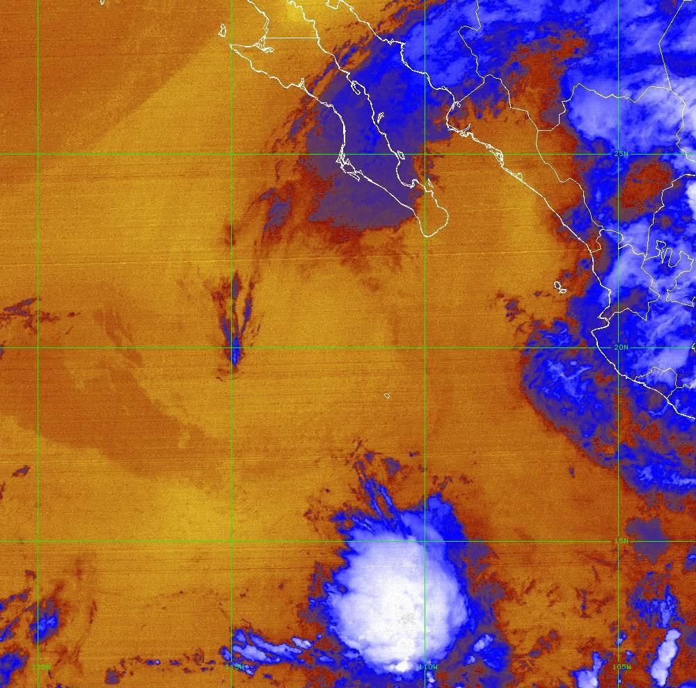 Band 16 - 13.3 µm - CO₂ Longwave - IR - 01 Jul 2020 - 0610 UTC
