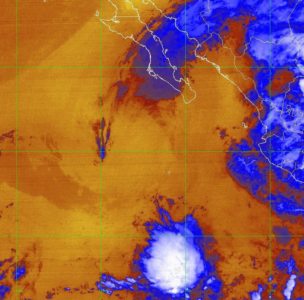 Band 16 - 13.3 µm - CO₂ Longwave - IR - 01 Jul 2020 - 0620 UTC