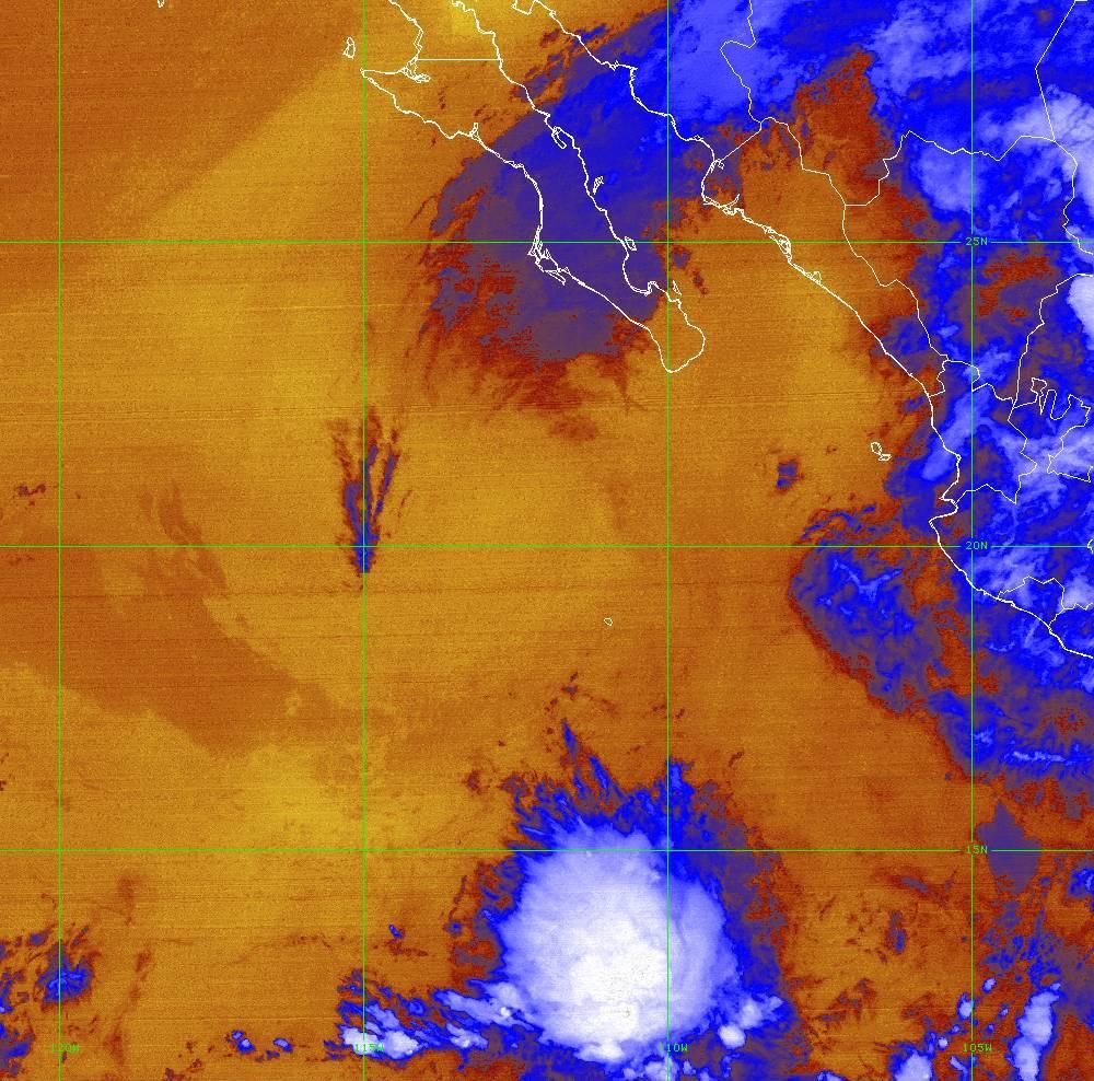 Band 16 - 13.3 µm - CO₂ Longwave - IR - 01 Jul 2020 - 0710 UTC