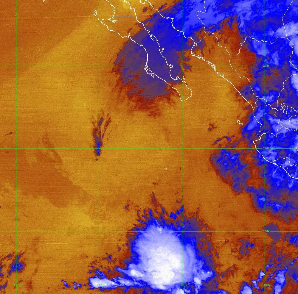 Band 16 - 13.3 µm - CO₂ Longwave - IR - 01 Jul 2020 - 0750 UTC