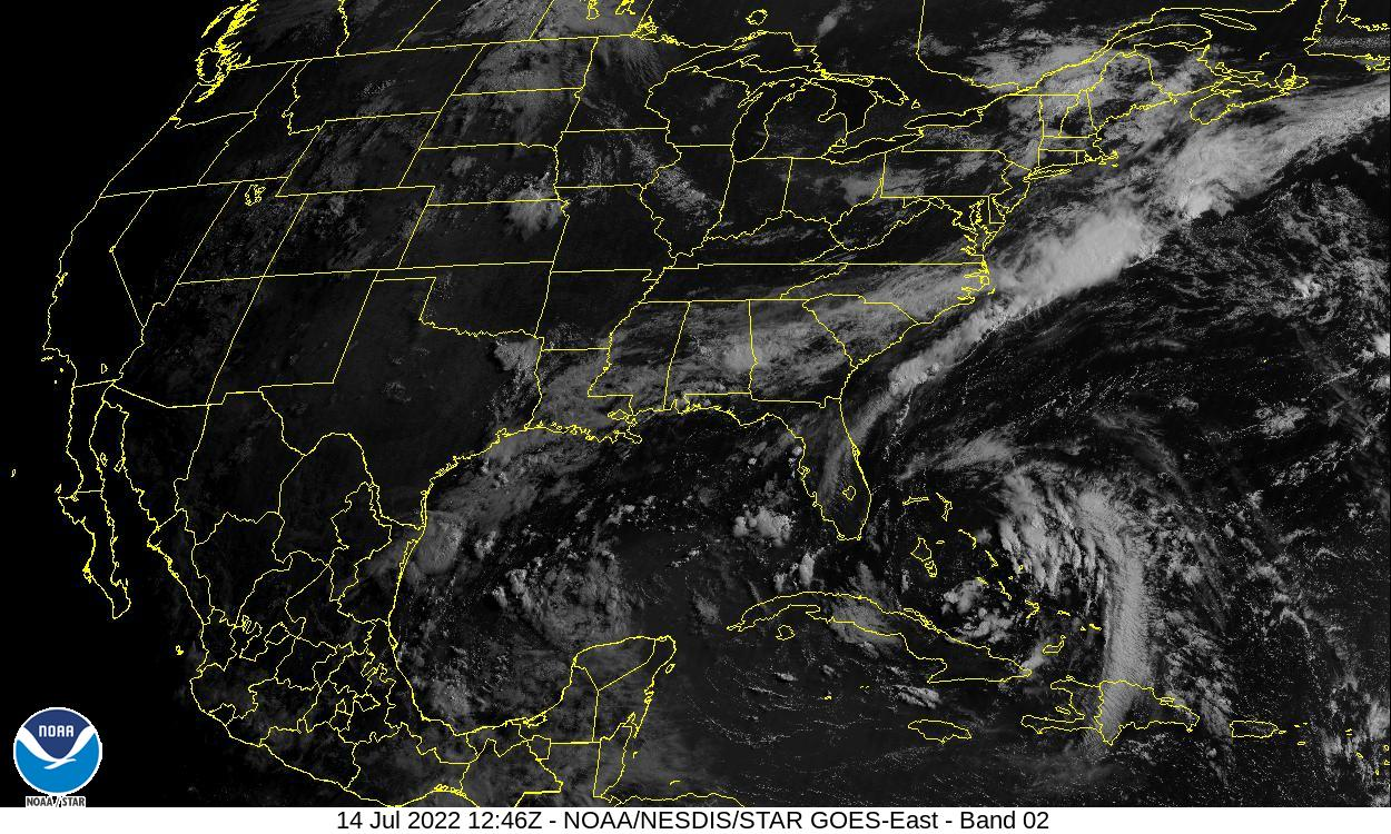 Visible Light Satellite Image