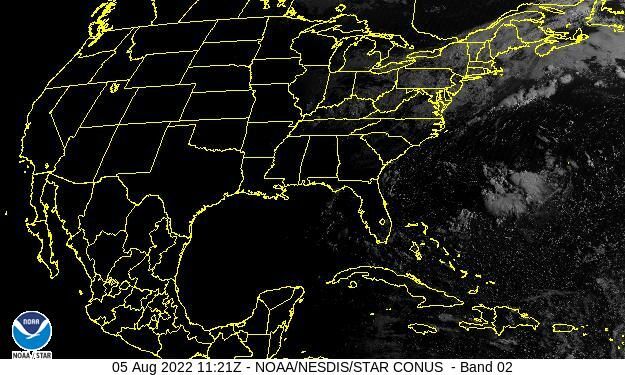 GOES-16 CONUS Visible Satellite Image from STAR