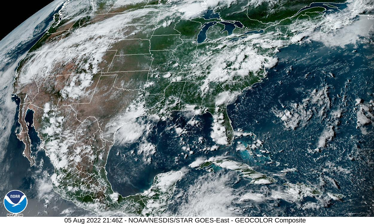 Satellite Images - Live weather satellite images
