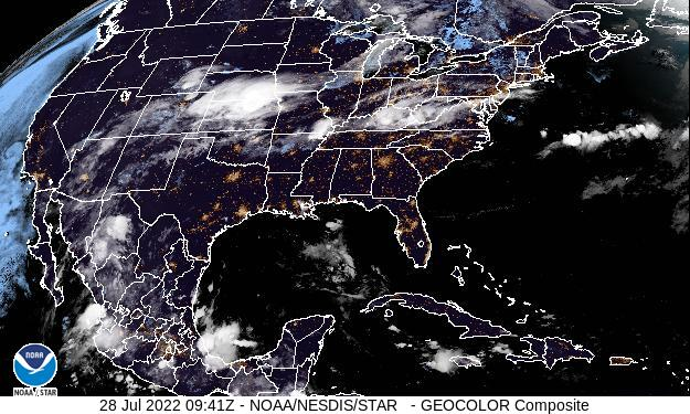 GOES East Sat Image