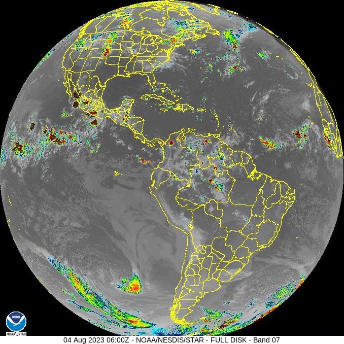 Imagen del Satélite de Venezuela