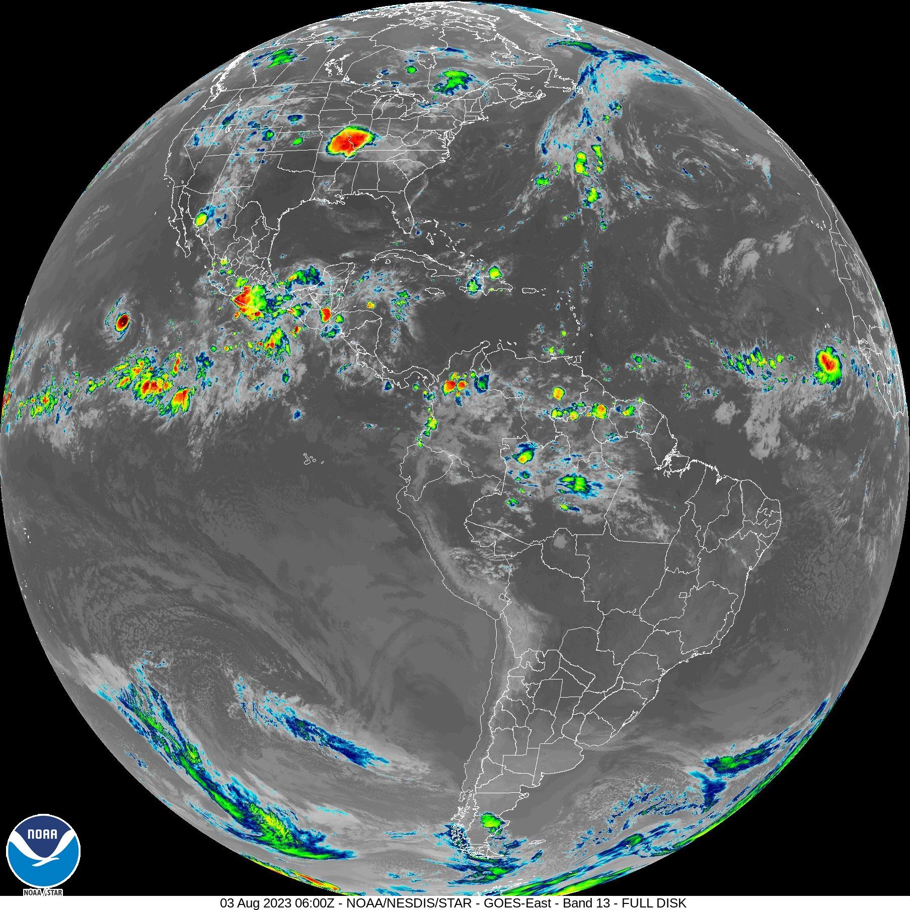 Latest Satellite Imagery - Latest world satellite images