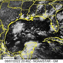 Gulf of Mexico visible image