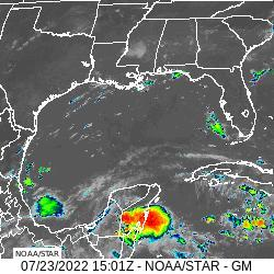 GOES16 Gulf Of Mexico