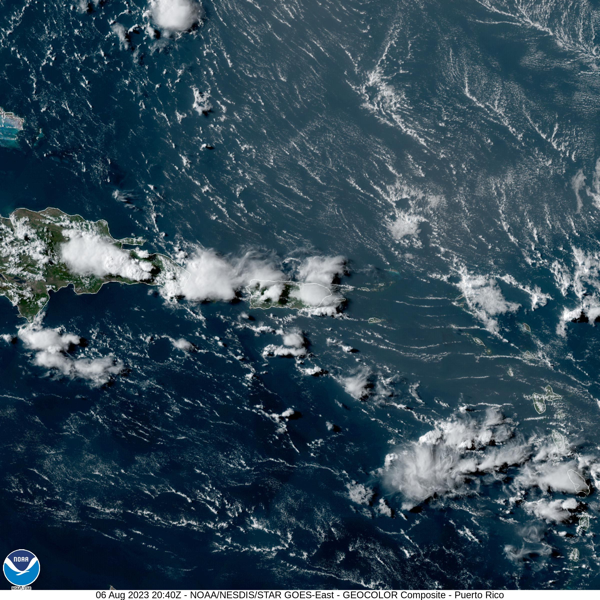 Caribbean Satellite
