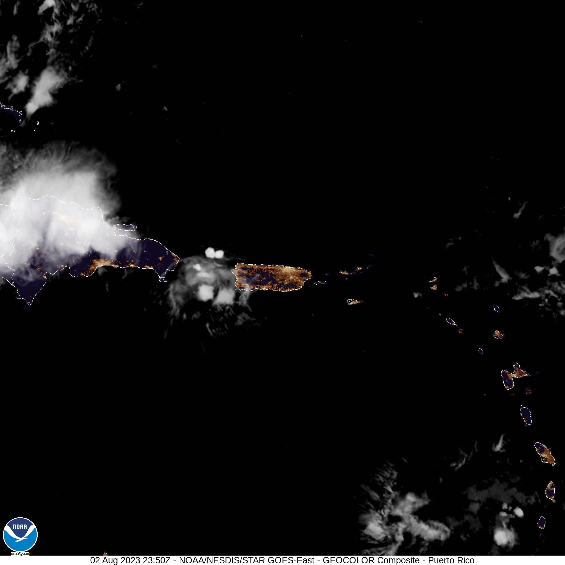 Puerto Rico and Caribbean Satellite