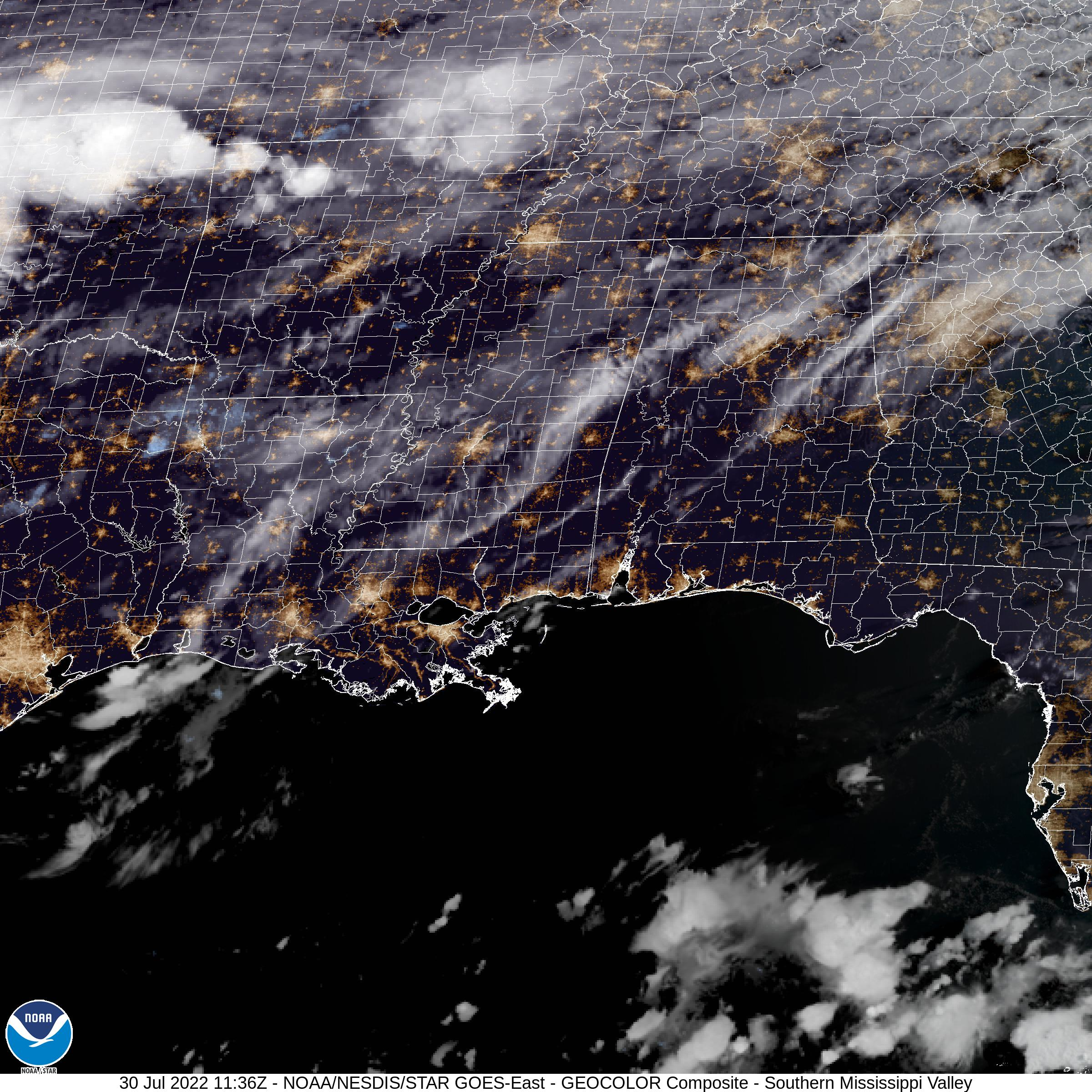 Eastern US Satellite