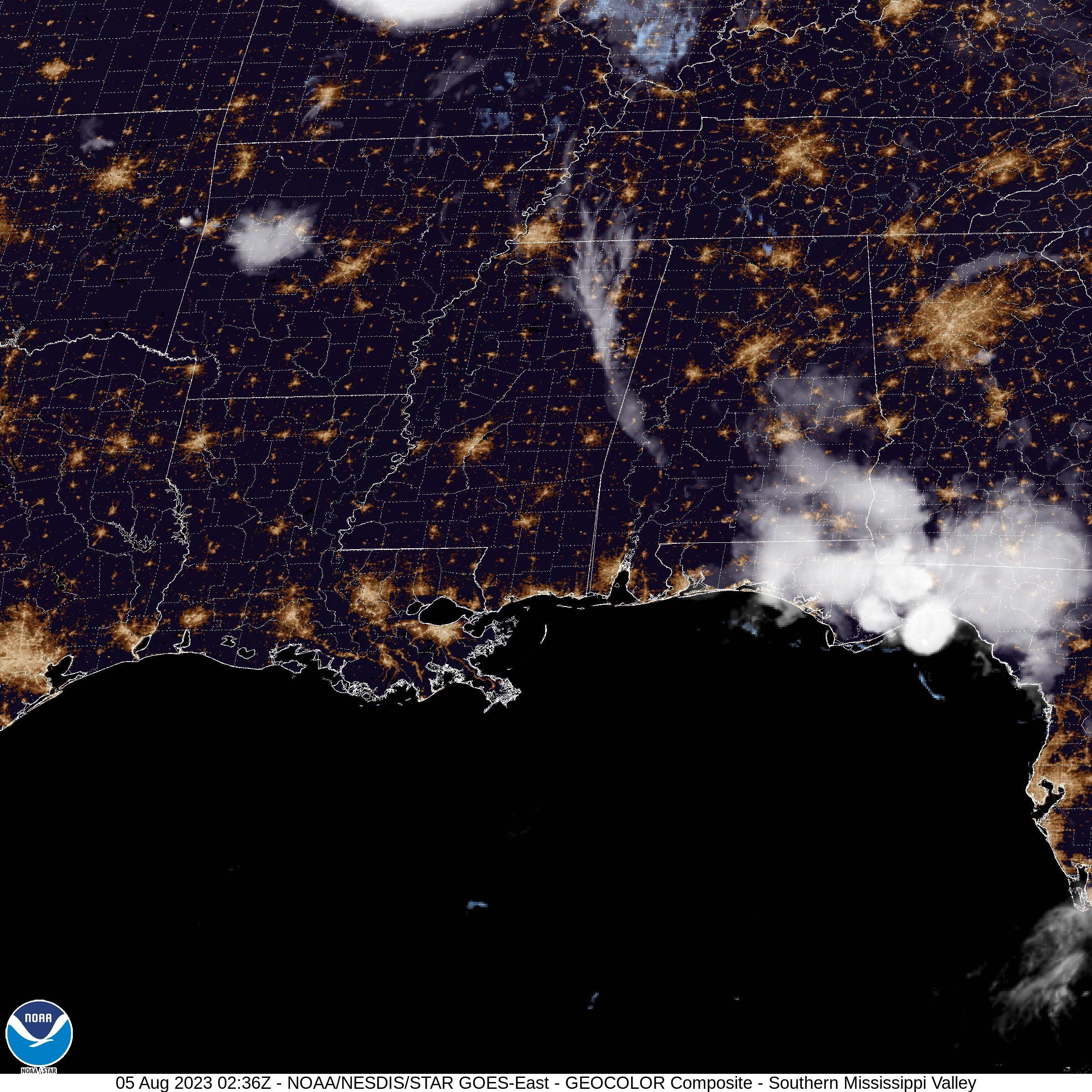 Eastern US Satellite