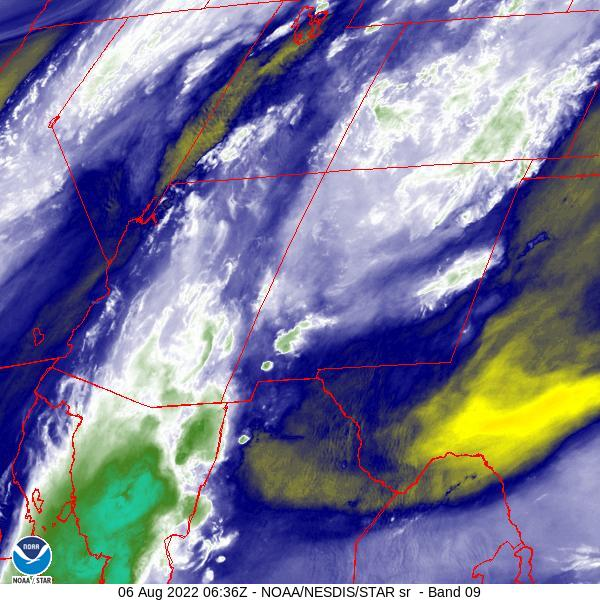 NM water vapor satellite