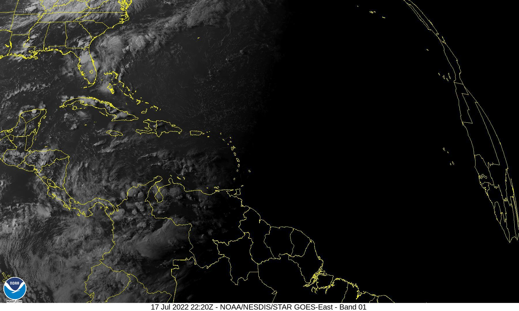 Caribbean and Atlantic Satellite