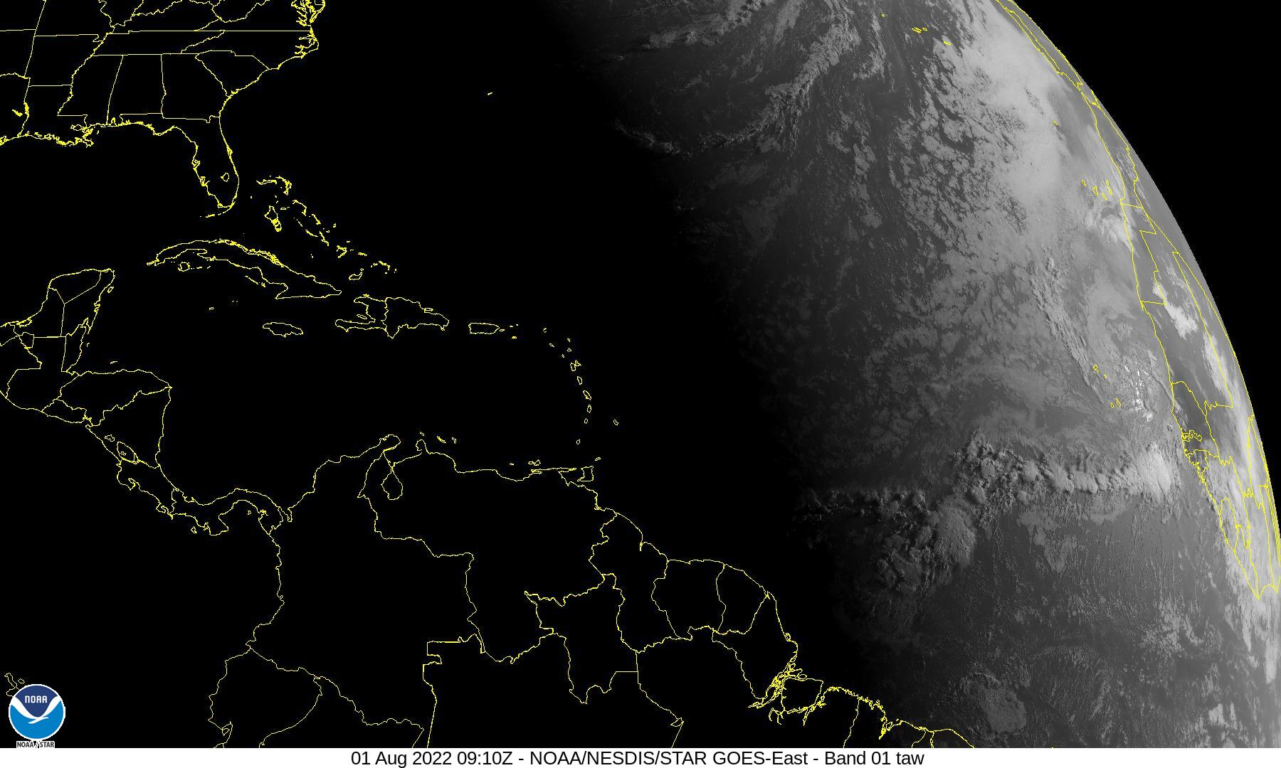 Caribbean and Atlantic Satellite