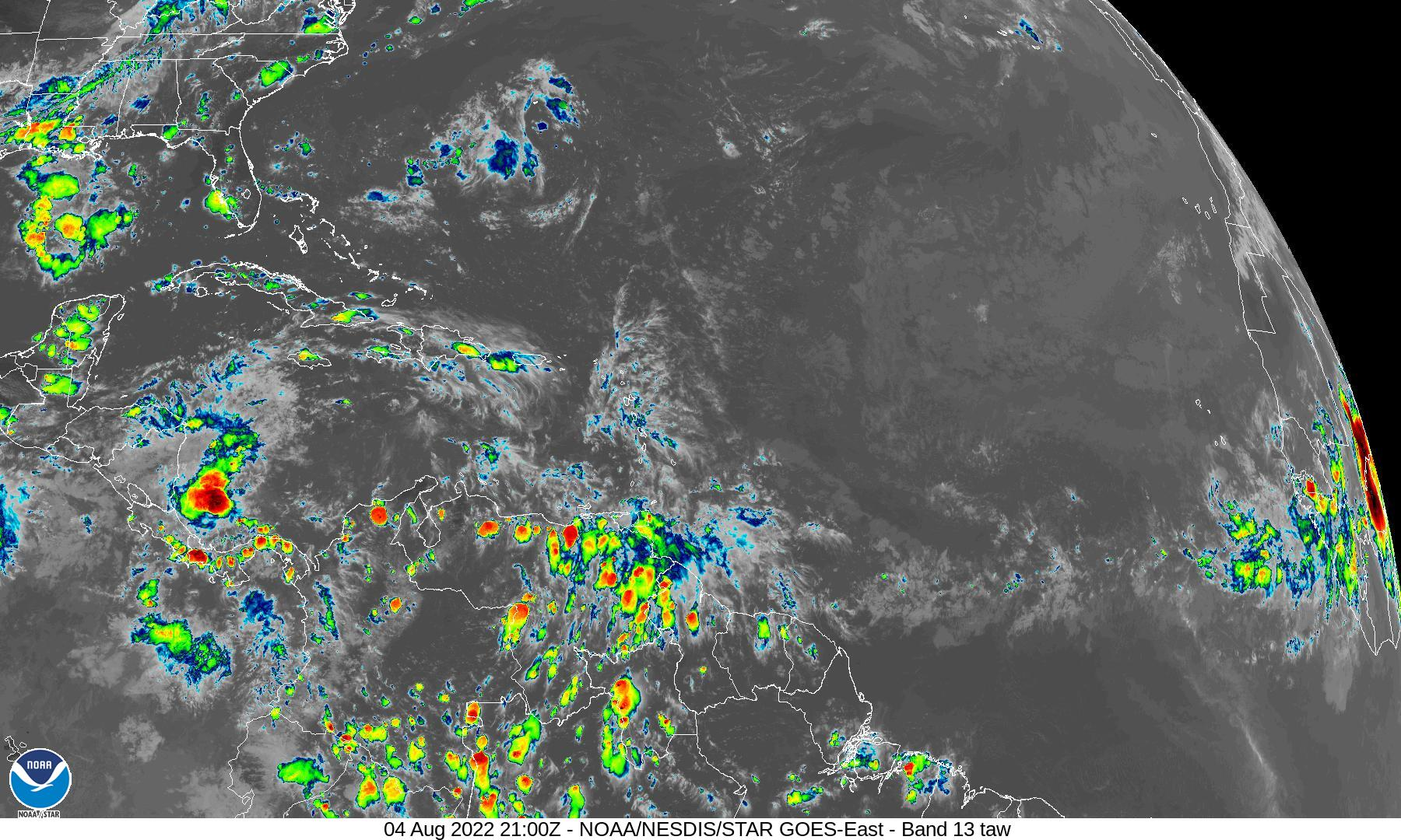 Satellite Imagery of the Tropical Atlantic