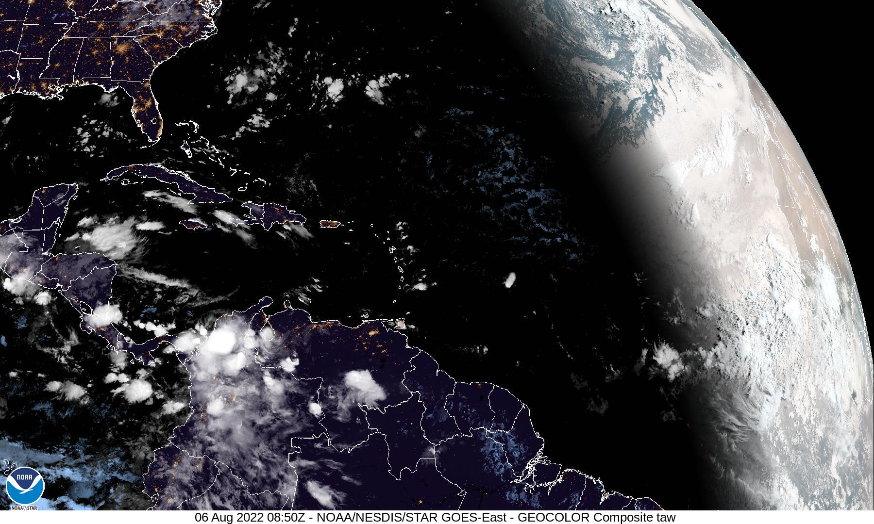 Tropical Atlantic Infrared Satellite