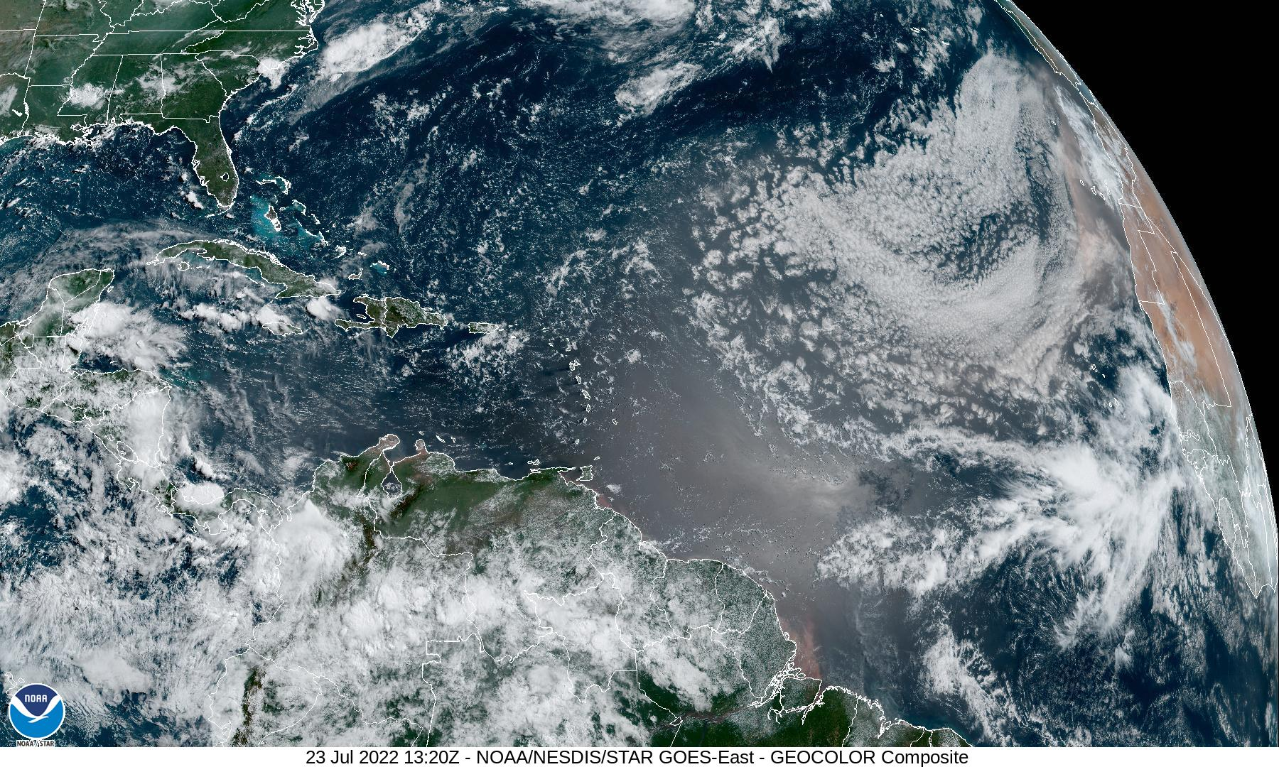 Atlantic Sat Image
