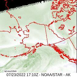 Alaska Band 8 Satellite