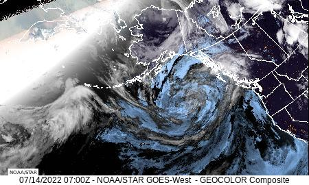 North Pacific GeoColor