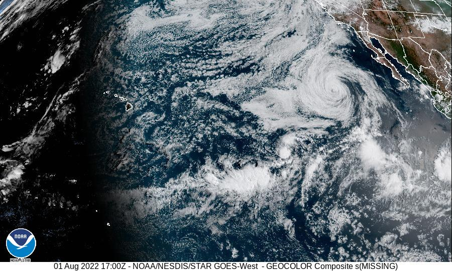 Eastern North Pacific Satellite